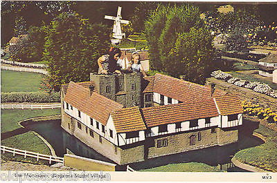 MONASTERY, SKEGNESS MODEL VILLAGE - DENNIS POSTCARD (ref 4646)