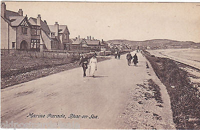 RHOS-ON-SEA - MARINE PARADE - OLD POSTCARD (ref 4127/12)