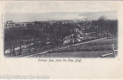 COLWYN BAY FROM THE FLAG STAFF (ref 4102/12)