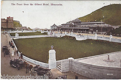 THE FRONT FROM THE GILBERT HOTEL, ILFRACOMBE c1910 (ref 3323/12)