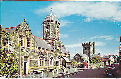 Towyn, Market Hall and Parish Church