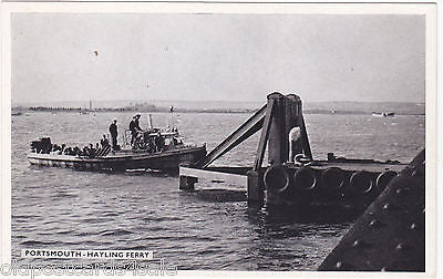 PORTSMOUTH - HAYLING FERRY - OLD POSTCARD (ref 3571/16)