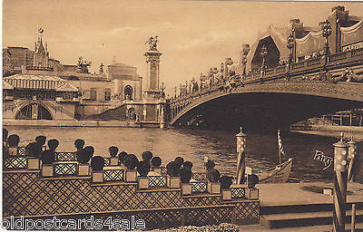EXHIBITION OF DECORATIVE ARTS, PARIS - PONT ALEXANDRE III - 1925 (ref 7345/14/A)