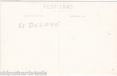 SS DELAWARE (?) - REAL PHOTO POSTCARD (ref 1732/13s)