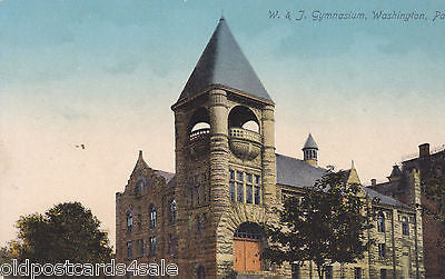 W & J GYMNASIUM, WASHINGTON, Pa. (ref 5925/13)