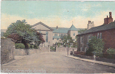 HIGHER CLOUGHFOLD, RAWTENSTALL - PRE 1918 POSTCARD (ref 6263/13)