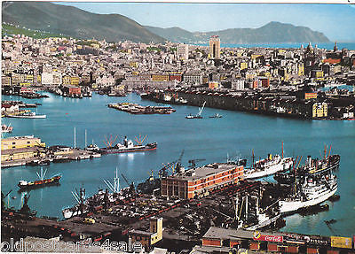 GENOVA - GENOA - PANORAMA & GULF PARADISE IN BACKGROUND - 1970s (ref 7370)