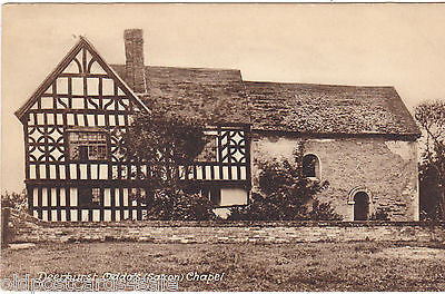 DEERHURST, ODDA'S (SAXON) CHAPEL - OLD POSTCARD (our ref 0973)