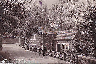 RED COTE, ARMLEY - 1913 YORKSHIRE REAL PHOTO POSTCARD (ref 3939/16)