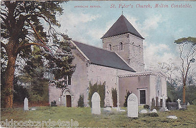ST PETER´S CHURCH, MELTON CONSTABLE - PRE 1918 (NR FAKENHAM) (ref 4303)