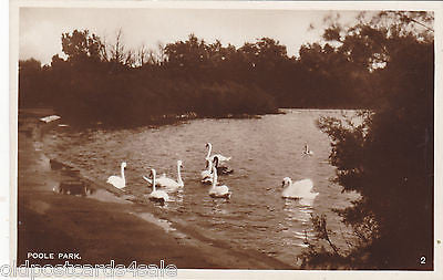 POOLE PARK - OLD REAL PHOTO POSTCARD (ref 7242)