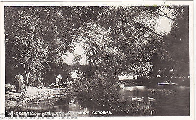 SKEGNESS - THE LAKE, PLEASURE GARDENS - PRE 1918 POSTCARD (ref 3191)
