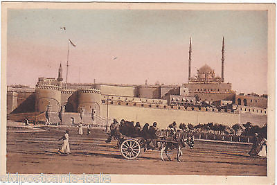 THE CITADELLE - CAIRO, EGYPT - OLD POSTCARD