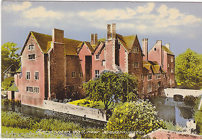 HARVINGTON HALL NR KIDDERMINSTER - MODERN SIZE POSTCARD (ref 1823)