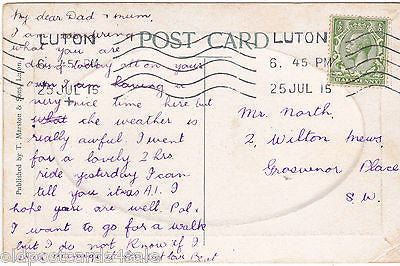 WHY-AX-YE, LUTON - 1915 EMBOSSED POSTCARD (our ref 3070)