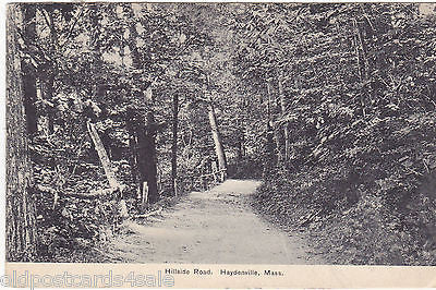 HILLSIDE ROAD, HAYDENVILLE, MASS. - 1910 POSTCARD (OUR REF 6744)