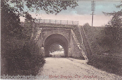 Old postcard of Market Drayton, The Aqueduct