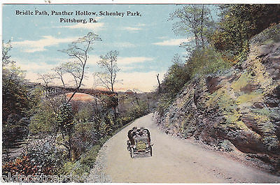 BRIDLE PATH, PANTHER HOLLOW, SCHENLEY PARK, PITTSBURGH, PA (ref 5474/13)