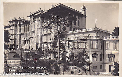 RAPALLO, NUOVO KURSAAL - REAL PHOTO POSTCARD (ref 1495)