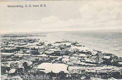 MUIZENBERG, C.C. FROM S.E. - SOUTH AFRICA POSTCARD (ref 5568/13)