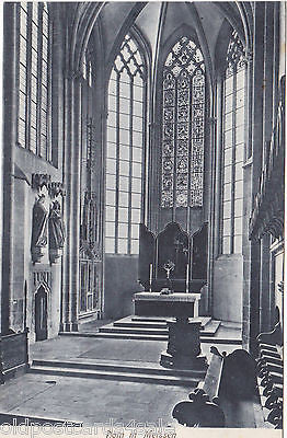 DOM IN MEISSEN - OLD POSTCARD (ref 3844/12)