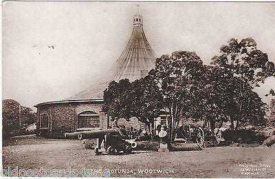 THE ROTUNDA, WOOLWICH - 1924 POSTCARD (our ref 2333)