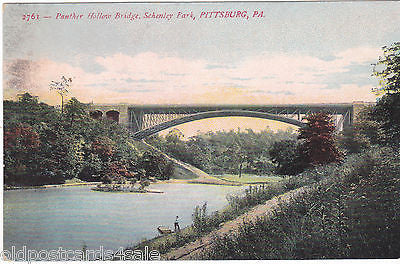 PANTHER HOLLOW BRIDGE, SCHENLEY PARK, PITTSBURGH (ref 5476/13)