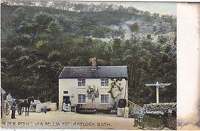 Rider Point, Via Gellia nr Matlock Bath
