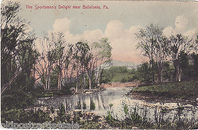 THE SPORTSMEN'S DELIGHT, NEAR BELLEFONTE, Pa. (ref 4850)