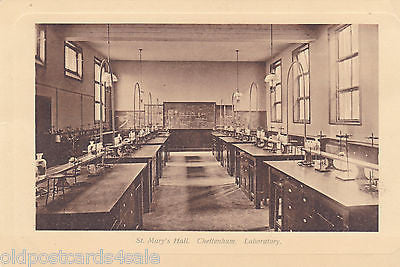 ST MARY'S HALL, CHELTENHAM LABORATORY - POSTCARD (ref 5082/15)