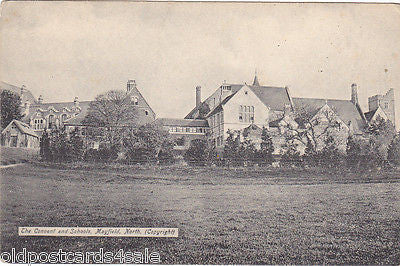 CONVENT AND SCHOOLS, MAYFIELD, NORTH - PRE 1918 POSTCARD