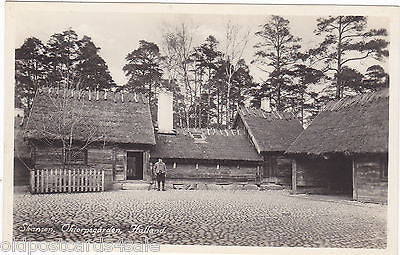 SKANSEN OKTORPSGARDEN HALLAND - PHOTO POSTCARD - SWEDEN (ref 2827)