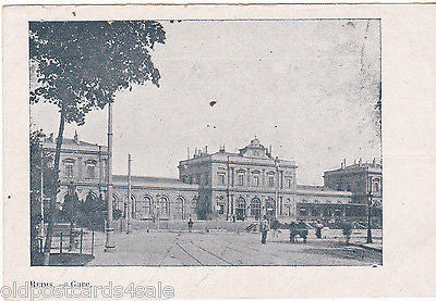 REIMS - GARE - OLD POSTCARD (ref 5485)