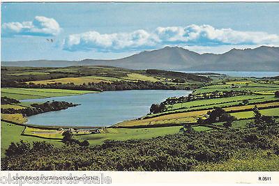 LOCH ASCOG AND ARRAN FROM CANADA HILL - 1985 - DENNIS POSTCARD (ref 1766)