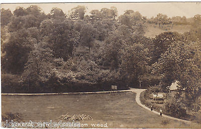 GENERAL VIEW OF COULSDON WOOD - OLD REAL PHOTO POSTCARD (ref 2038/16)