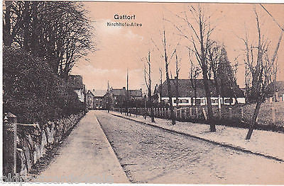 GETTORF - KIRCHHOFS-ALLEE - OLD POSTCARD (ref 1676)