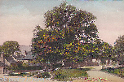WENSLEY GREEN - YORKSHIRE - PRE 1918 POSTCARD (ref 7407)