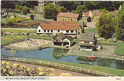 GENERAL VIEW, SKEGNESS MODEL VILLAGE - DENNIS P0STCARD (ref 4726)