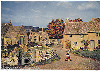 SNOWSHILL, GLOUCESTERSHIRE - MODERN SIZE POSTCARD (ref 6841/14)