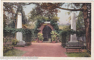 WASHINGTON TOMB, MT VERNON - OLD POSTCARD (ref 3062/14