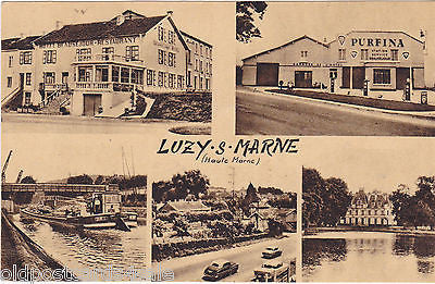 LUZY -S-MARNE - HAUTE MARNE - HOTEL BEAUSEJOUR, HOTEL GARAGE ETC.