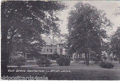 OAK GROVE SANITARIUM, FLINT, MICHIGAN. - OLD POSTCARD - USA (ref 5369/13)