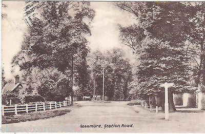 Old postcard of  Stanmore