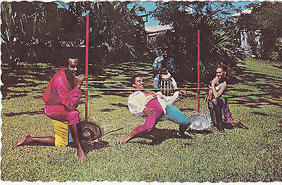 THE LIMBO - DANCE OF THE TROPICS, WEST INDIES - POSTCARD (ref DEB6654/13)