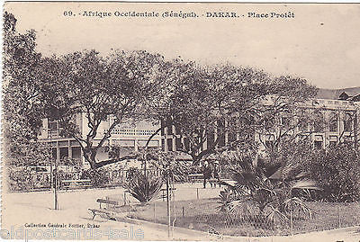 AFRIQUE OCCIDENTALE (SENEGAL) - DAKAR PLACE PROTET (ref DEB2010)