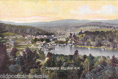 SUNAPEE VILLAGE, N.H. - OLD POSTCARD (ref 4803/12)