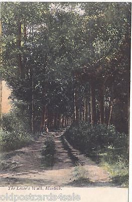 LOVER'S WALK, MARTOCK - PRE 1918 VINTAGE POSTCARD (our ref 3570)