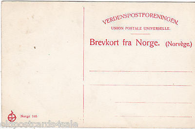 LAPPEKONE MED BARN - OLD POSTCARD - NORWAY (ref 3755/12)