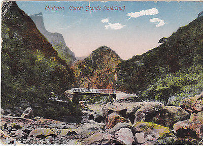 MADEIRA - CURRAL GRANDE (INTERIEUR) (ref 4381/12)