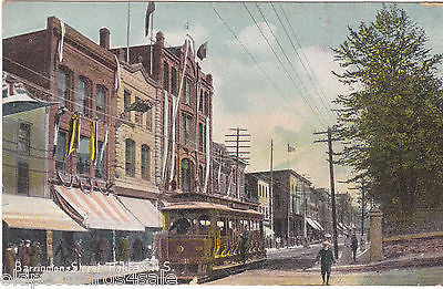 BARRINGTON STREET, HALIFAX, NOVA SCOTIA - OLD POSTCARD